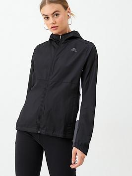 Adidas   Own The Run Jacket - Black