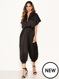 ax-paris-button-up-jumpsuit-black