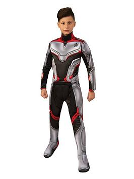 The Avengers The Avengers Avengers 4 Deluxe Child Team Suit Picture