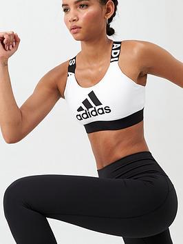 Adidas   Drst Brnd Bra - White