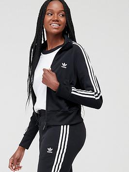 adidas Originals Adidas Originals Firebird Track Top - Black Picture