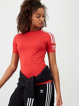adidas Originals Adidas Originals Tight Tee - Red Picture