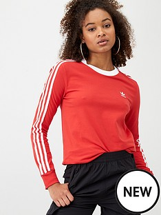 adidas-originals-3s-long-sleeve-top-rednbsp
