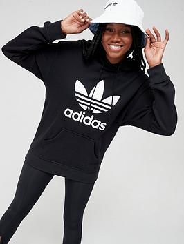 adidas Originals  Adidas Originals Trf Hoodie - Black