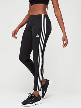 adidas Originals Adidas Originals Superstar Track Pant - Black Picture
