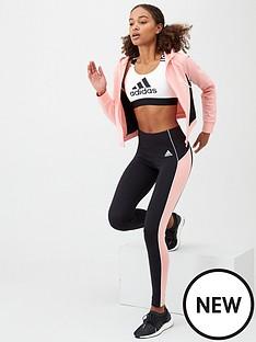 adidas-hood-amp-tight-track-suit-pinkblacknbsp