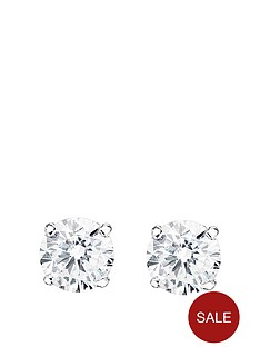 love-gold-9ct-white-gold-cubic-zirconia-solitaire-stud-earrings