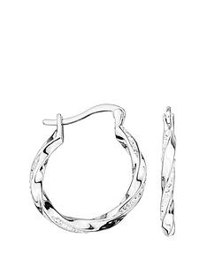 evoke-evoke-sterling-silver-swarovski-crystal-20mm-twist-creole-hoop-earrings