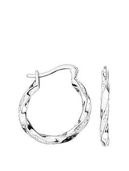 evoke-evoke-sterling-silver-swarovski-crystal-20mm-twist-creole-hoop-earrings
