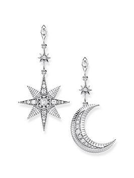 thomas-sabo-moon-and-star-earrings