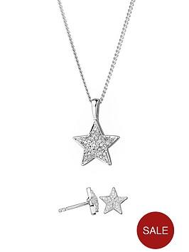 love-diamond-sterling-silver-diamond-set-star-stud-earrings-and-pendant-necklace