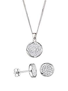 evoke-evoke-sterling-silver-swarovski-crystal-stud-earrings-and-pendant-set