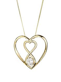 love-gold-9ct-gold-cubic-zirconia-infinity-heart-pendant-necklace