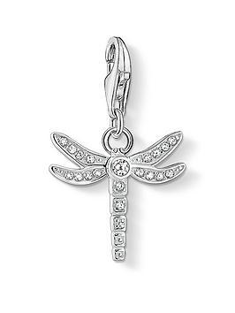Thomas Sabo  Zirconia Dragonfly Charm