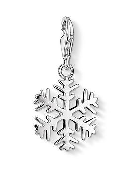 Thomas Sabo Thomas Sabo Snowflake Charm Picture