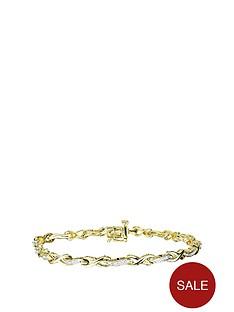 love-diamond-gold-plated-sterling-silver-11pt-diamond-infinity-link-bracelet