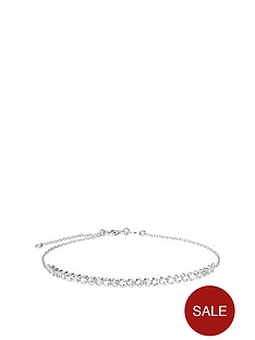 the-love-silver-collection-sterling-silver-cubic-zirconia-adjustable-bracelet