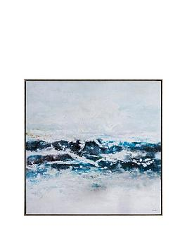 Gallery Gallery Pacific Ocean Waves Framed Wall Art Picture