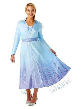 Disney Frozen Disney Frozen Frozen Adult Deluxe Elsa Travel Dress Picture
