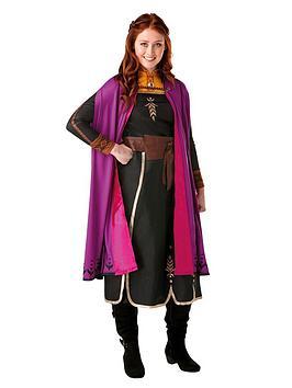 Disney Frozen Disney Frozen Frozen Adult Deluxe Anna Travel Dress Picture
