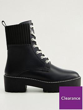 mango-leather-lace-up-biker-boots
