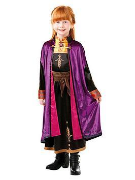 Disney Frozen Disney Frozen Childs Deluxe Anna Travel Dress Picture