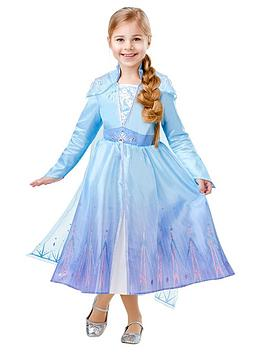 Disney Frozen Disney Frozen Childs Deluxe Elsa Dress Picture