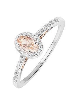 love-gem-9ct-white-gold-diamond-set-oval-morganite-ring-with-rose-gold-detail