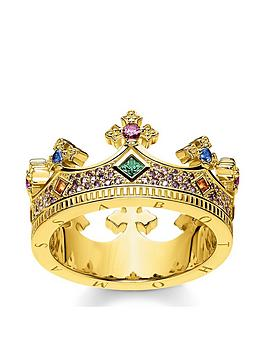thomas-sabo-gold-crown-ring