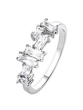 the-love-silver-collection-sterling-silver-cubic-zirconia-mixed-cut-ring