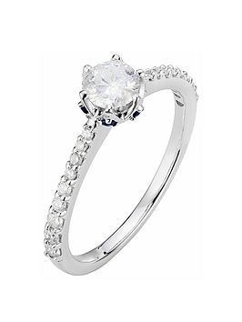 Love DIAMOND Love Diamond 9Ct White Gold 58Pt Total Diamond Solitaire  ... Picture