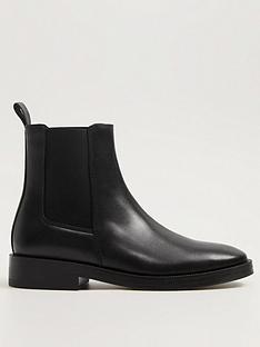mango-leather-basic-flat-ankle-boot