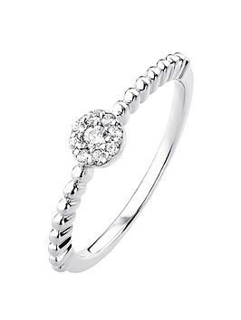 love-diamond-9ct-white-gold-diamond-set-cluster-beaded-solitaire-ring