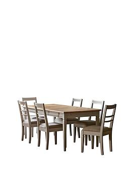 Hudson Living Hudson Living Bronte 186 - 236 Cm Extending Dining Table And  ... Picture
