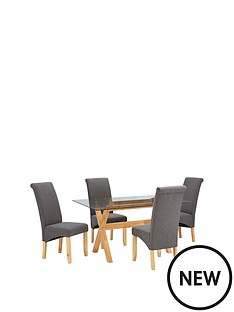 venla-150-cm-dining-table-and-4-chatham-chairs