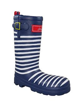 Joules    Stripey Print Wellington Boot Dog Toy