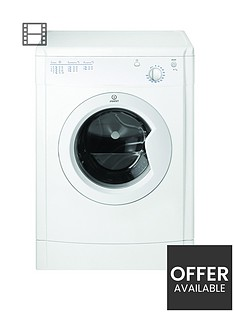 indesit-ecotime-idv75-7kg-load-vented-tumble-dryer-white