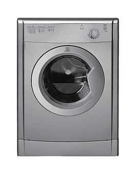Indesit Indesit Idv75S 7Kg Vented Tumble Dryer - Silver Picture