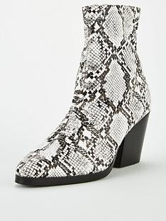 public-desire-charlie-ankle-boot-snake-print