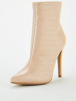 Public Desire Public Desire Revive Ankle Boot - Nude Picture