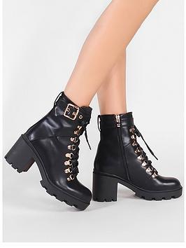 Public Desire Public Desire Swag Ankle Boot Picture
