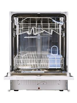 Indesit Dif04B1 13Place Full Size Integrated Dishwasher  White