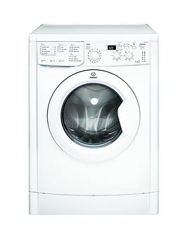 Indesit   Ecotime Iwdd7143 1400 Spin, 7Kg Wash, 5Kg Dry Washer Dryer - White