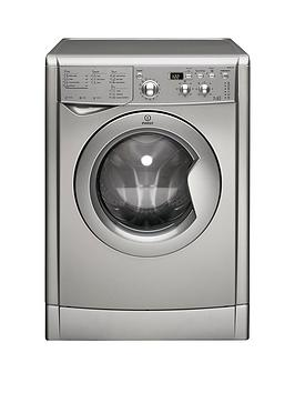 Indesit IWDD7143S 1400 Spin 7kg Wash 5kg Dry Washer Dryer  Silver