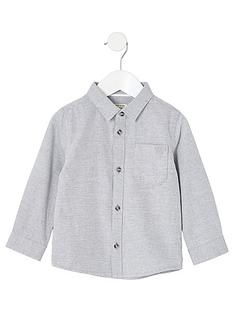 river-island-mini-boys-long-sleeved-twill-shirt-grey