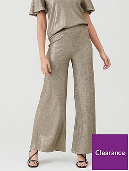 v-by-very-lurex-wide-leg-co-ord-pants-bronze