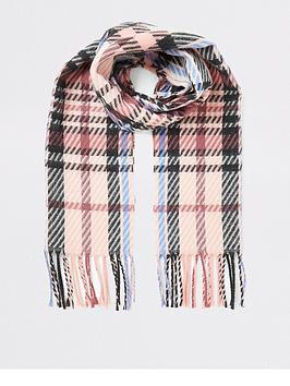 river-island-girls-check-scarf-pink