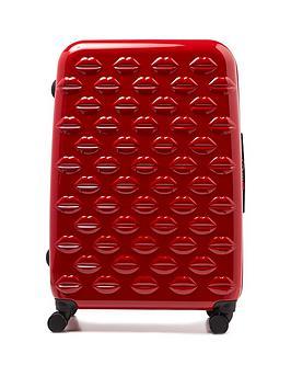 lulu-guinness-red-large-lips-hardside-spinner-case