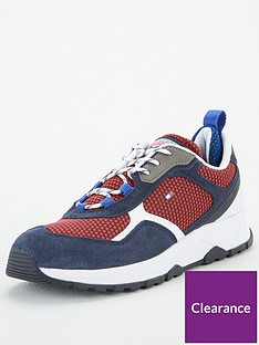 tommy-hilfiger-mixed-texture-panel-trainers-desert-skynavy