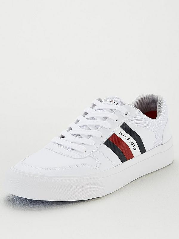 entire collection wide varieties 100% top quality Tommy Hilfiger Core Signature Trainers - White | littlewoods.com